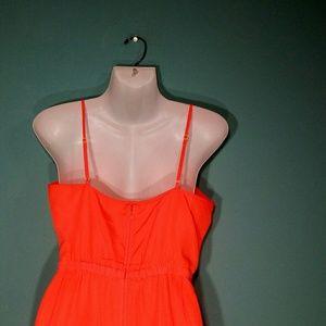 J. Crew Dresses - J. Crew Neon Orange Dress Size 6